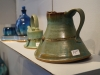 Over 70,000 people attend the Brookside Art Fair every year in Missouri to see pieces like these ceramic vases and pots. photo by Violet Cowdin
