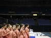 The STA dance team watches the team before them at state Feb. 20. photo by Anna Hafner