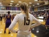 Senior Eleanor Lueke scans the court for an open teammate before throwing the ball inbounds. Lueke is committed to play basketball at Truman State University next year. photo by Kat Mediavilla