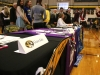 Six STA athletes signed National Letters of Intent to play collegiate sports Feb. 3 in the Goppert Center gymnasium after school. The six seniors were greeted afterwards by family, friends, coaches and teammates. photo by Maggie Knox