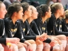 STA volleyball players watch their teammates play at the volleyball state championship  in Cape Girardeau, Missouri on Oct. 28. photo courtesy of Catelyn Campbell