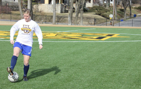 STA alumnae check out new soccer field