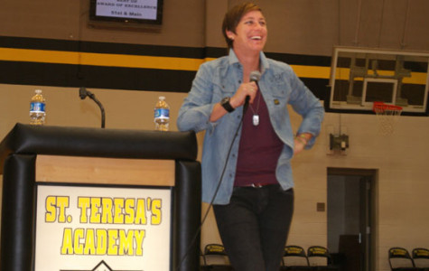 Gallery: Abby Wambach speaks to STA students