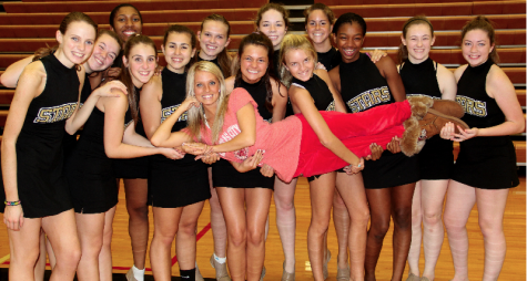 Dance team competes at State