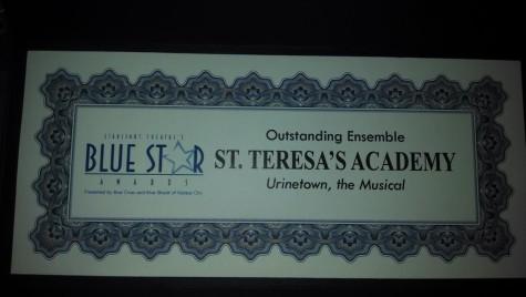 """Urinetown"" wins Blue Star Award"