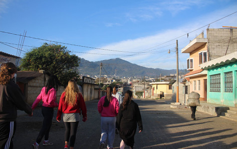 13 students venture into Guatemala