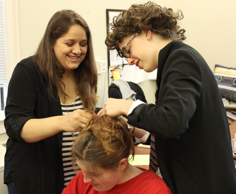 Gallery: Behind the Scenes of Student Productions