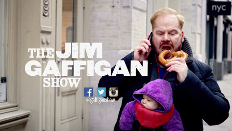 Gaffigan entertains audiences better on stage than on screen