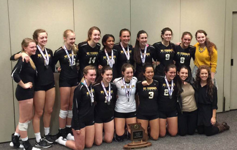 Varsity volleyball team wins state runner-up