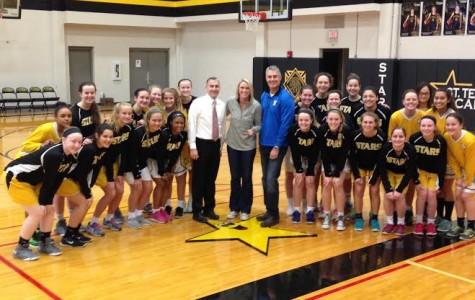Varsity basketball wins Raymore-Peculiar tournament