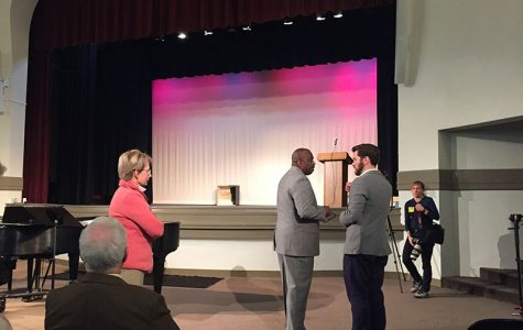 Senator visits STA to speak out against racism, hate crimes