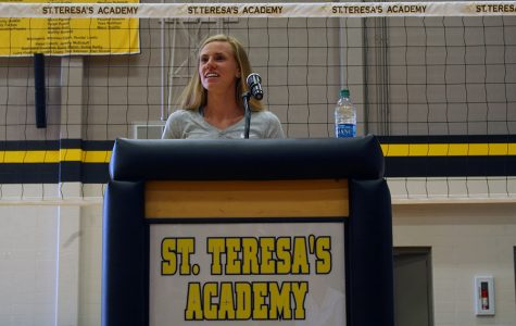 Olympic competitor visits STA