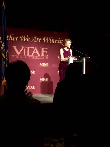 Carly Fiorina speaks at Vitae Foundation dinner in KC