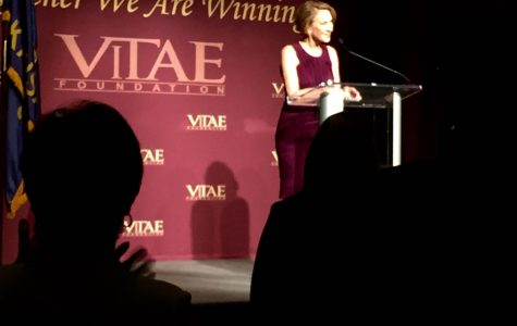 Carly Fiorina speaks at Vitae Foundation dinner in KC
