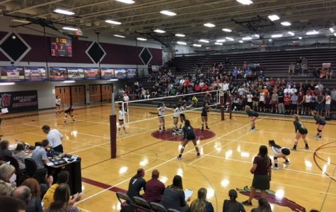 Volleyball team wins Districts