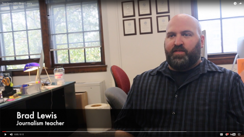Teachers 101: Brad Lewis