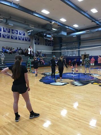 STA juniors participate in charity volleyball game vs. Rockhurst and Sion