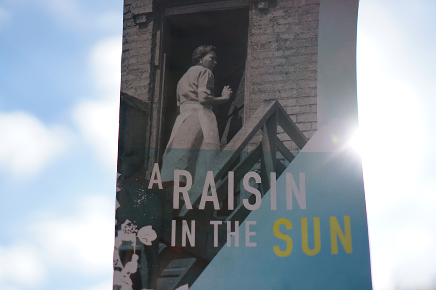 A+copy+of+Lorraine+Hansberry%27s+%22A+Raisin+in+the+Sun%22+is+held+up+to+the+sun.+The+junior+class+attended+the+play+at+Kansas+City+Repertory+Theatre+April+20.+photo+by+Gabby+Martinez