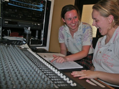 "The invention of ""Nabby"": sound crew as told by two seniors"
