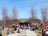 STA students gather in the quad for a yard day Jan. 28. It was about 70 degrees outside. photo by Meg Thompson