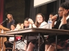 Junior Savaria Goodman speaks among a panel of students at the Diversity Presentation Jan. 26. photo by Meg Thompson