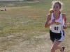 Freshman Ann Campbell runs at the sectional meet last Saturday. Campbell placed 14th individually. Photo by Allison Fitts