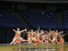 The STA dance team competes in the state competition in the lyrical category Feb. 20. photo by Anna Hafner