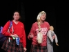 Carrie Jacquin and Jennifer Greene act as seniors Gabby Keller and MaryMichael Hough