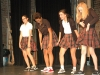 Members of Drama Club perform a dance for the club on Sept 22. They performed to the song,