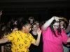 Seniors Liz Countee, left, and Bridget Jones dance at the Father-Daughter Dance. photo by Libby Hutchinson