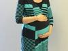 Kayla Leatherman poses outside her classroom Sept. 4. Leatherman teaches personal finance and entrepreneurship.