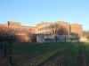 The sun shines on the backside of Southwest High School Nov. 21.