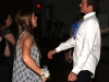 Junior Tess Rellihan dances with Rockhurst High School junior Martin Crowe Oct. 17. photo by Paige Powell