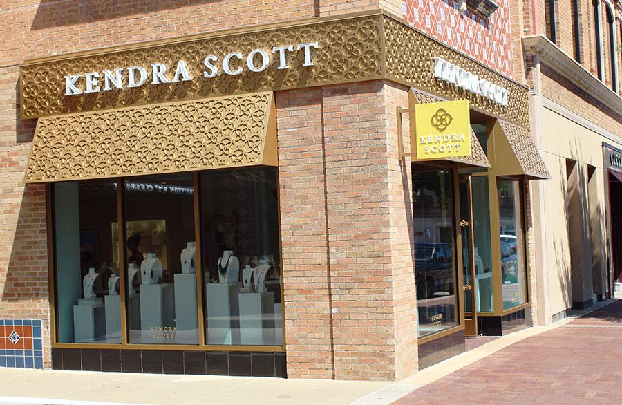 Kendra Scott located at 412 Nichols Road next to Helzberg. photo by Bridget Jones.
