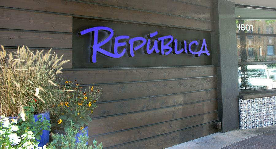 República located at 4807 Jefferson St, next to Coal Vines. photo by Bridget Jones.