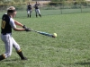 Senior Grace Bullington bats during warm ups at Tiffany Hills Park Sept. 18.