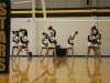 The STA dance team performs at the pep rally Sept. 25. photo by Anna Hafner