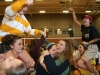 """STA students sing and dance to """"Party in the USA"""" at the pep rally Sept. 25. photo by Anna Hafner"""