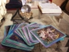 Tarot cards set in preparation for a reading in a psychic shop located on Westport Road. photo by Cassie Hayes