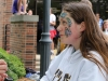Freshman Hannah Bland gets her face painted at Student Appreciation Day Friday. photo by Maggie Knox