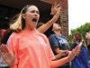 Senior Meg Thompson dances at Student Appreciation Day Friday. photo by Maggie Knox