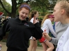 Junior Ellie Meysenburg, left, dances with junior Liz Barton at Student Appreciation Day Friday. photo by Maggie Knox