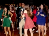 Student Audrey Giersch left dances with friends at the annual Teresian dance Oct. 15. photo by Anna Kate Powell