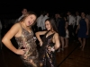 Junior Lily Manning, left, and junior Anna Louise Sih pose for a picture at the Teresian dance Oct. 15. photo by Anna Kate Powell