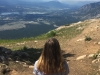 Senior transfer Jordan Trbizan overlooks a beautiful view in Revelstoke, British Columbia. (Photo courtesy of Jordan Trbizan)