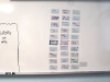 A list of thirty seniors' names are displayed on a white board. These students will help tutor their peers with writing and assignments in all subjects.