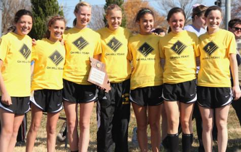 Cross country team places second at sectional meet