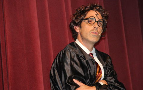Harry Potter strikes annual auction pep rally