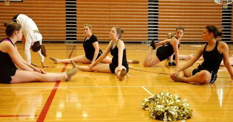 DartTube: Dance team performs at volleyball senior night