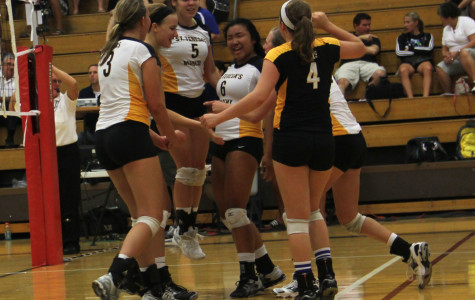 Volleyball team wins Districts, loses Sectionals